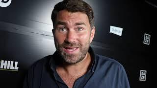 'HEARTBREAKING' -EDDIE HEARN BRUTALLY HONEST ON COURTENAY LOSS, BARRETT KO, CASH, & WHYTE v POVETKIN
