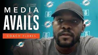 Coach Flores on preparing for Week 11 vs. Denver   Miami Dolphins Press Conference