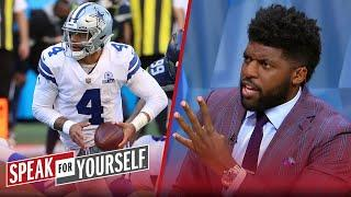 Wiley & Acho disagree that Dak is to blame for Week 3 loss to Seahawks | NFL | SPEAK FOR YOURSELF