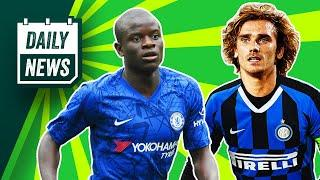 Inter's Griezmann - Martinez swap deal + Should Chelsea SELL Kante?  Daily News