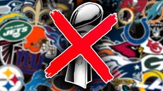 The BEST Team to NEVER Win a Super Bowl... Is?