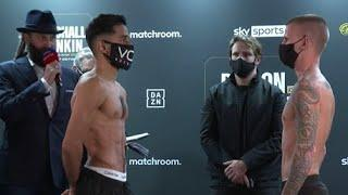 THE NEW CHIEF SUPPORT! - QAIS ASHFAQ VS MARC LEACH OFFICIAL WEIGH IN & FACE OFF