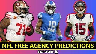 NFL Free Agency 2021 Predictions On Kenny Golladay, Trent Williams, Will Fuller, JuJu & Sherman