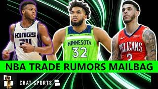 NBA Trade Rumors On Karl-Anthony Towns, D'Angelo Russell, Lonzo Ball, Buddy Hield & John Collins