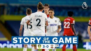 Story of the Game | Leeds United 3-0 Southampton | VAR penalty drama, our 200th Premier League win