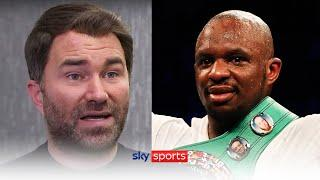Eddie Hearn names THREE opponents Dillian Whyte could face before fighting Alexander Povetkin