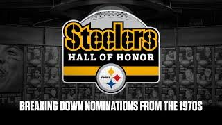 Hall of Honor Fan Nominations: The 1970's | Pittsburgh Steelers