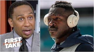 'Antonio Brown is a grown man!' - Stephen A. isn't holding Tom Brady accountable for AB | First Take