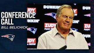 "Bill Belichick: ""We are always trying to learn from every situation to improve"" 