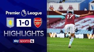 Villa out of drop zone with HUGE win over Arsenal!   Aston Villa 1-0 Arsenal   EPL Highlights