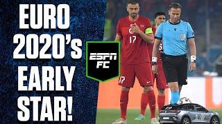 Euro 2020 remote car ball delivery steals the show! | #Shorts | ESPN FC