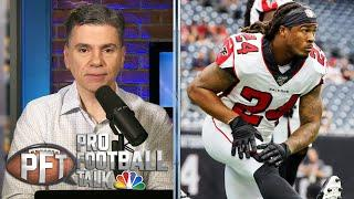 Does Devonta Freeman have any juice left to help Giants? | Pro Football Talk | NBC Sports