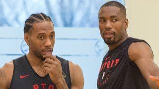 Serge Ibaka Reveals How Kawhi Leonard Got Him To Join Clippers With One Hilarious Text Message