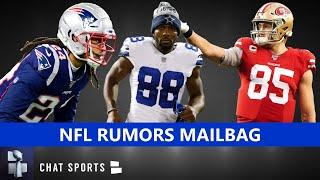 NFL Rumors Mailbag: Stephon Gilmore Trade? Dez Bryant Landing Spots? George Kittle Contract Latest?