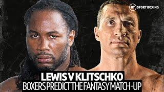 Lennox Lewis v Wladimir Klitschko: Who wins in their prime? Calzaghe, Haye and more make their pick