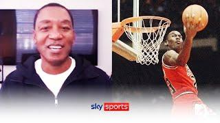 Isiah Thomas names FOUR players he would love to see in a dream dunk contest | All-Star Preview