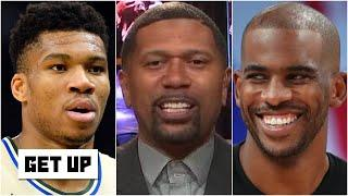 Jalen Rose's predictions for Giannis' future with the Bucks & weighs in on CP3 to Milwaukee | Get Up