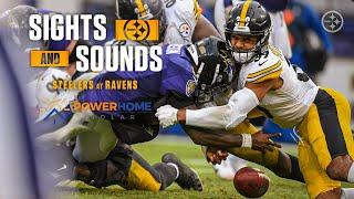 Mic'd Up Sights & Sounds: Pittsburgh Steelers Week 8 win over Baltimore Ravens