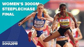 Women's 3000m Steeplechase Final | World Athletics Championships Doha 2019