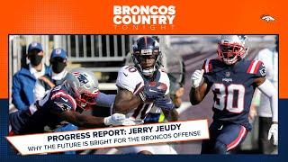 How has Jerry Jeudy changed the outlook of the Broncos on offense? | Broncos Country Tonight