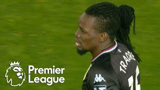 Bertrand Traore scores Aston Villa equalizer against Manchester United | Premier League | NBC Sports