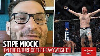 """Do I even know how to fight anymore?!"" Stipe Miocic on Cormier fights and being a first responder"
