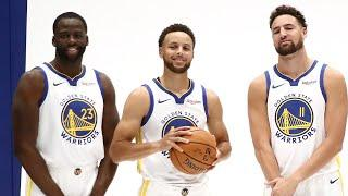 Steph Curry, Draymond Green, And Klay Thompson Not Present At Warriors Training Camp