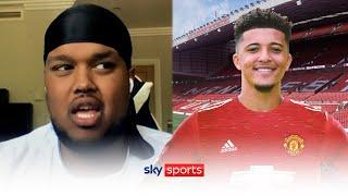 Sancho agreement with Utd?  | Chunkz & Manny react to the latest transfer gossip | Saturday Social
