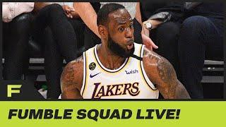 LeBron James' Savage In-Game Chatter Is On Full Display During NBA Restart | Fumble Live!
