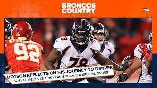 Demar Dotson recounts his journey to the Broncos   Broncos Country Tonight