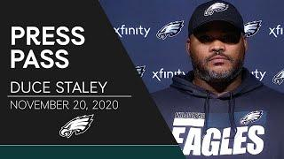 "Duce Staley: Eagles Running Backs are ""Constantly Trying to Get Better"" 
