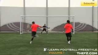 Football Freestyle Duo | F2 Learn Football Freestyle DVD Trailer!!