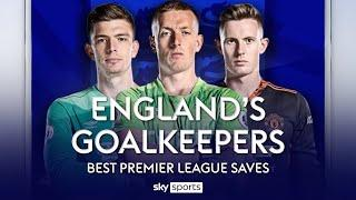 Jordan Pickford, Dean Henderson or Nick Pope for England?! | Their BEST Premier League Saves