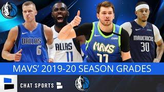 Dallas Mavericks 2019-20 Season Grades For Luka Doncic, Kristaps Porzingis, THJ & Seth Curry | News