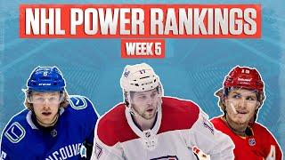 NHL Power Rankings: How Far Have The Canadiens Fallen & Are The Florida Panthers Legit?