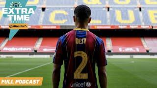 Sergino Dest signs for Barcelona! The future of the USMNT looks bright