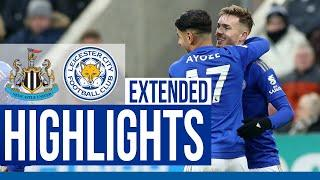 Newcastle United 0 Leicester City 3 | Extended Highlights | 2019/20