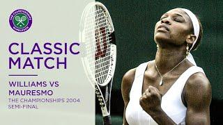 Serena Williams vs Amelie Mauresmo | Wimbledon 2004 Semi-final | Full Match