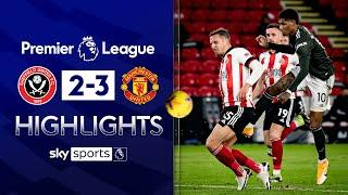 Rashford scores STUNNER in United fightback!  | Sheff Utd 2-3 Man Utd | Premier League Highlights