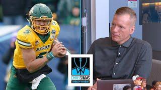 Why Simms claims Trey Lance doesn't compare to Josh Allen | Chris Simms Unbuttoned | NBC Sports