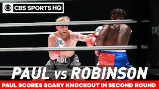 Jake Paul vs Nate Robinson Highlights: Paul proved experience matters | CBS Sports HQ