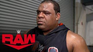 Keith Lee vows to become WWE Champion on first Raw of 2021: WWE Network Exclusive, Dec. 28, 2020