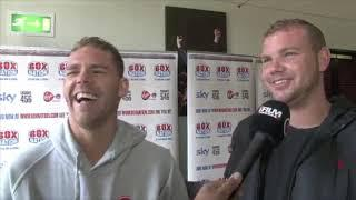 IF YOU DONT BEAT HIM, I BEAT YOU WHEN YOU GET HOME -BILLY JOE SAUNDERS TOLD BY BROTHER TOMMY IN 2012