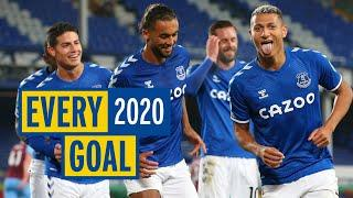 EVERY EVERTON GOAL IN 2020! | ALL 59 STRIKES OF THE YEAR!