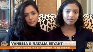 Vanessa Bryant & Daughter Natalia REACT TO Kobe Bryant's Induction Into the NBA Hall Of Fame