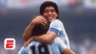 Diego Maradona's play at the 1986 World Cup tempts me to call him the best ever - Fjortoft | ESPN FC