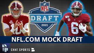 2021 NFL Mock Draft: Reacting To Daniel Jeremiah's Latest Mock - Devonta Smith & Mac Jones Slide