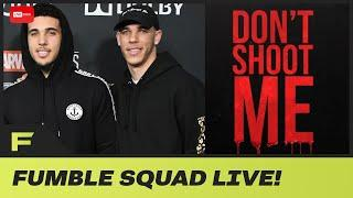 Lonzo Ball Drops 'Don't Shoot Me' With Liangelo Ball A NEW Song About Police Brutality! | Fumble Liv