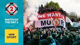 'Fans overstepped the mark' - Shearer and Jenas on Man Utd protest | BBC Sport