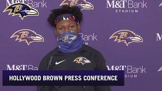Hollywood Brown Talks Touchdown Pass From Lamar Jackson | Baltimore Ravens